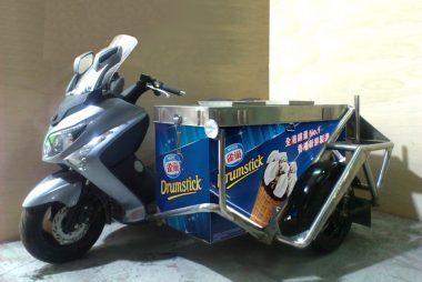 雪糕電單車